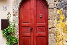 Flowery & Colorful Doors