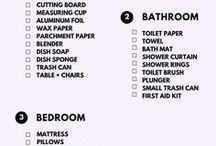 Apartmen check list