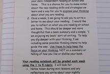 School - Reading Notebooks