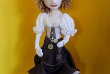 Cloth art dolls / Creative ideas for art dolls