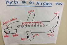 Extending preschoolers interest on aeroplanes