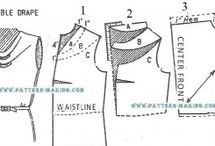 Sewing: Alterations/Patterns/Pattern Making / by Priscilla Frank