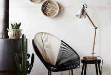 Fauteuil Acapulco / Le fauteuil Acapulco a su se réinventer au fil des années. Initialement conçu pour l'outdoor, cette petite chaise mexicaine a su conquérir nos intérieurs.
