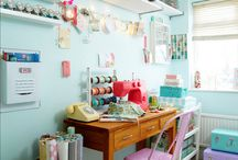 my craft room organized