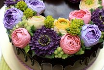 Buttercream flowers 1