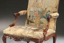 rare pair Gainsborough armchairs