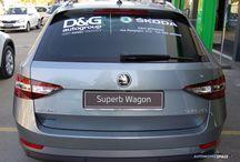 Nuova Skoda Superb Wagon 2015 / Nuova Skoda Superb Wagon 2015