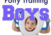Potty training (boys)