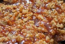 Salted caramel crumble