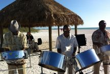 Steel Bands / A tradition that began in Trinidad and Tobago, also known as steelpans or steel drums