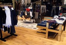 Traditional flooring for stylish clothing stores / Mango, an international clothing retailer, has fitted Dennebos flooring in 500 stores spanning 50 countries!  The New Age Flooring, available from www.flooringanddoors.co.uk, looks stunning the world over!