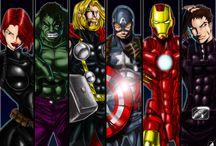 Superheroes  / by Heather Kaye Morgan