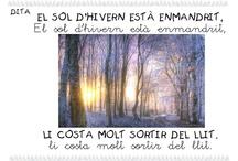 Dites, poemes, rimes, endevinalles...