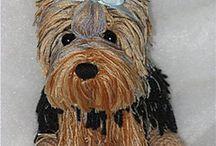 Yorkie crochet pattern