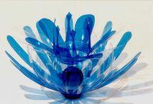 pet art / recyklace pet lahví