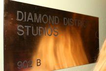 Heatmakerz & Diamond District Studios / Ari at Diamond District Studios, Manhattan home of the legendary production team & clients The Heatmakerz