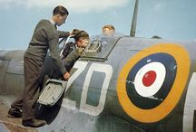 Spitfire in colour