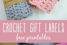 Crochet labels etc