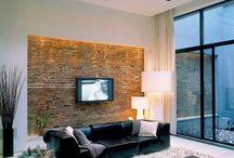 raw bricks