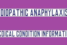 Idiopathic Anaphalaxis