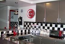 Retro//Coca Cola Kitchen Ideas