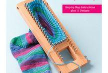 Ripples and loops / knitting, loom..