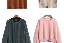 brusinha e roupas em geral