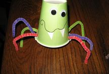 Halloween Crafts / by Dessie Harris-O'neal