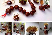 Herfst / Autumn crafts