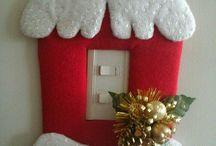 manualidades navideños