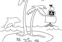 Treasure Island / ideas and materials for adapted educational unit on Treasure Island / by Juanita Pritchard