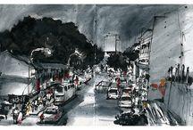 Sketch urban