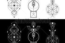 Símbolos geométricos