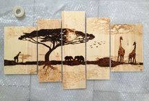 Wood And Pyrography