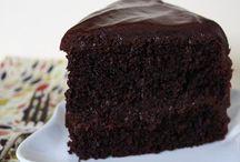chocolate cakes mmmm   :-D