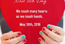 National Nail Tech Day / Appreciate the Awesome Nail Tech who adds color to our life on May 30th of each year. www.NationalNailTechDay.com