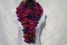 Gifts Ideas-Handknitted Items / Handknitted Scarves,Shawls & more / by designbyelena