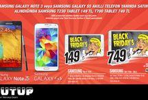 Samsung Tablet Kampanyası
