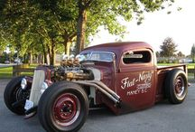 Hot Rods/Rat Rods....just Rods / by V Rene