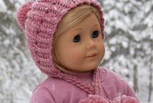 Doll Winter hat