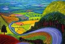 David Hockney / Landscapes