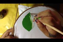 Aprendiendo a pintar con Cony
