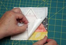 Paper Piecing / by Cathy Robertson