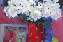 Philip & Mackenzie / Paintings from our new exhibition. Scottish artists Jackie Philip and Jennifer Mackenzie.  12th July - 17th August at the Lime Tree Gallery in Fort William.  www.artfortwilliam.co.uk / by Lime Tree Gallery Fort William
