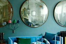 Kék a nappaliban
