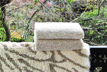 ONE-OF-A-KIND BATH MATS AND TOWELS FROM GRACCIOZA