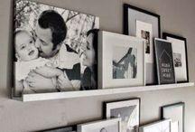 Ideas: Family photo wall