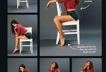 Girls poses