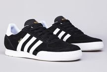 Sneakers: adidas Skateboarding / Adidas' Skateboarding roster includes the Adi-Esse, Gonz, Busenitz and Seeley models