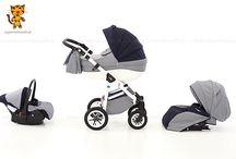 Rider 3w1 - wielofunkcyjny wózek dziecięcy / Rider 3w1 to wielofunkcyjny wózek dziecięcy, w skład którego wchodzi obszerna gondola, spacerówka i fotelik samochodowy z miękką wkładką dla noworodka. Atutem wózka jest jego lekka aluminiowa rama, która stanowi jednocześnie niezwykle trwałą i solidną konstrukcję wózka.